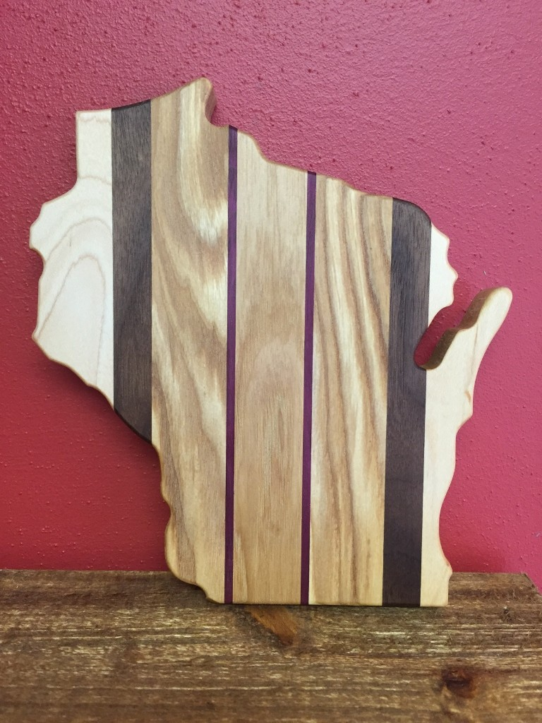 Wisconsin Cutout Cutting Board - Small