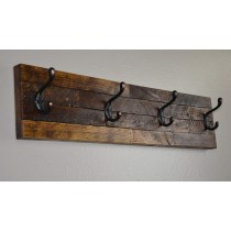 4 Hook Coat/Hat Rack