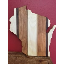 Wisconsin Cutout Cutting Board - Medium