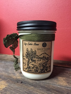 Log Cabin Home Soy Candle - 14 oz